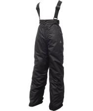 Dare2b DKW033-800026 Enfants TURNABOUT pantalons de neige noirs - 26 pouces