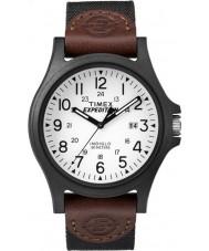 Timex TW4B08200 Mens expédition tissu marron montre bracelet