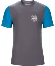 Dakine 10001023-GUNMETAL-S T-shirt coupe ample Lifted
