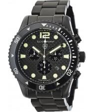 Elliot Brown 929-002-B03 en fibre de carbone noir Montre chronographe de Mens