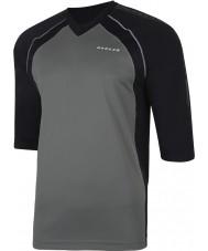 Dare2b T-shirt à manches longues en jersey noir
