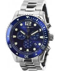 Elliot Brown 929-003-B01 de Mens argent montre chronographe en acier