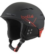 Bolle 31211 B-fun douce casque de ski noir et rouge - 54-58cm