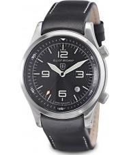 Elliot Brown 202-012-L02 édition Mens montagne de sauvetage CANFORD montre noir avec supplémentaire tissé noir balistique sangle en nylon