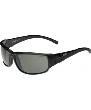 Bolle Keelback brillant polarisées lunettes de soleil noires tns