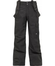 Protest 4810100-290-116 Garçons denysy véritables neige pantalon noir - 6 ans (116 cm)