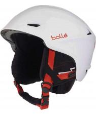 Bolle 30644 Casque de ski blanc très doux - 58-61cm