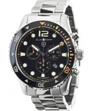 Elliot Brown 929-005-B01 de Mens argent montre chronographe en acier