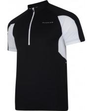 Dare2b DMT136-80040-XS Mens commove t-shirt en jersey noir - taille xs