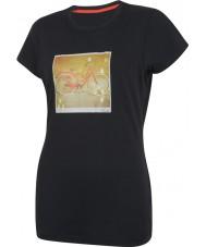 Dare2b Les femmes prennent deux t-shirts noirs