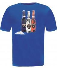 Dare2b DMT323-9PR50-S Mens bouteille skydiver t-shirt bleu - taille s