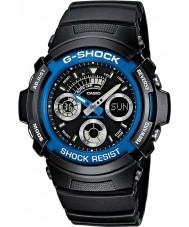 Casio AW-591-2AER Mens g-shock montre de sport du chronographe noir