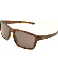 Oakley Oo9262-03 ruban mat écaille brun - gris lunettes de soleil chaudes