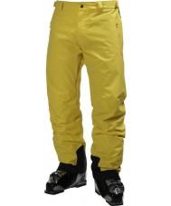 Helly Hansen Pantalon de ski jaune légendaire pour hommes