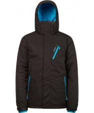 Protest 6710462-290-M Mens avenger vraie veste de neige noire - taille m