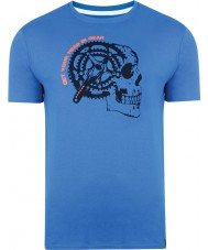 Dare2b DMT324-9PR40-XS Mens gearhead skydiver t-shirt bleu - taille xs