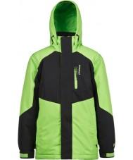 Protest 6811162-659-116 Garçons bonk juniors feuille verte veste de neige - 6 ans (116 cm)