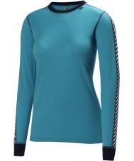 Helly Hansen 27992-570IBL-L Mesdames glace sèche bleu Pack 2 baselayer - taille l