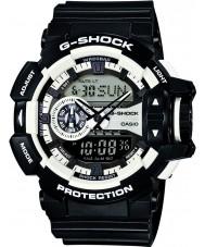 Casio GA-400-1AER Mens g-choc blanc montre chronographe noir