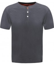 Dare2b Hommes boutons up ebony marl t-shirt