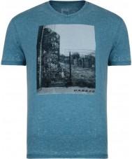 Dare2b Mens snapshot ocean deeps marl t-shirt