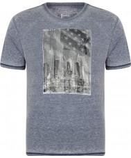 Dare2b Mens snapshot peacoat marl t-shirt