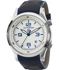 Elliot Brown 202-001-L06 Mens CANFORD cuir bleu montre bracelet