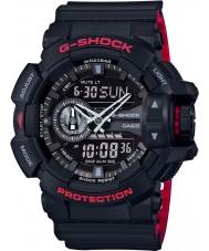 Casio GA-400HR-1AER Mens g-shock temps du monde montre combi noir