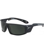 Cebe Ice 8000 mats lunettes de soleil gris noir