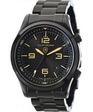 Elliot Brown 202-002-B04 Mens CANFORD noir ip montre bracelet en acier