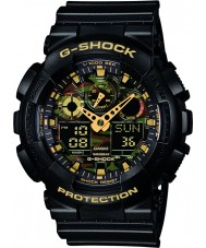 Casio GA-100CF-1A9ER Mens g-choc montre chronographe noir