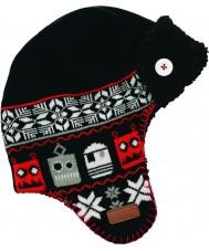 Dare2b DBC006-800C12 Garçons avert chapeau noir de ski