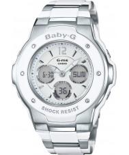 Casio MSG-300C-7B3ER Ladies baby-g le temps du monde à deux tons montre combi