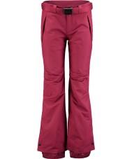 Oneill 658018-3049-XL Ladies passion étoiles rouges ski pantalons - taille xl