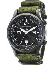 Elliot Brown 202-004-N01 Mens CANFORD tissu vert montre bracelet