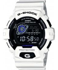 Casio GR-8900A-7ER Mens g-shock temps du monde blanc montre l'énergie solaire