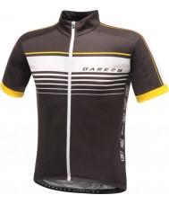 Dare2b DMT133-80040-XS Mens courage t-shirt en jersey noir - taille xs