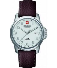 Swiss Military 6-4231-04-001 Mens soldat suisse Premier cuir marron montre bracelet