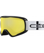 Cebe CBG50 Striker l d'orange à carreaux - orange, des lunettes de ski miroir flash