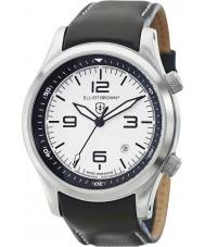 Elliot Brown 202-005-L02 Mens CANFORD cuir noir montre bracelet