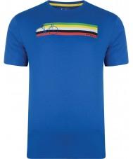 Dare2b DMT322-9PR40-XS Mens multibande skydiver t-shirt bleu - taille xs