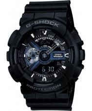 Casio GA-110-1BER Mens g-shock combi noir montre de temps du monde