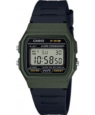 Casio F-91WM-3AEF Montre de collection