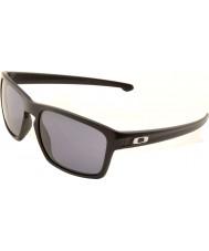Oakley Oo9262-01 ruban noir mat - lunettes de soleil gris