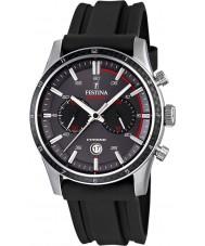 Festina F16874-H Tour Mens de bretagne 2015 gris chronographe noir montre
