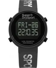 Superdry SYG203E Mens digi podomètre silicone gris montre bracelet