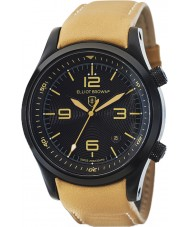 Elliot Brown 202-008-L04 Mens CANFORD tan cuir montre bracelet