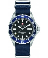 Swiss Military 6-4279-04-007-03 Mens lion de mer en nylon bleu montre bracelet