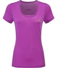 Ronhill T-shirt femme stride zeal ss
