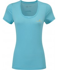 Ronhill RH-002263Rh-00255-16 Mesdames stride t-shirt ss zèle